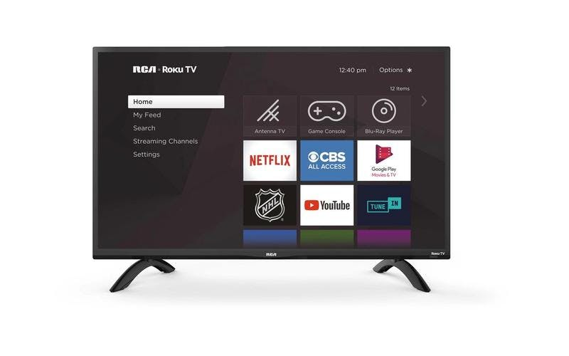 "RCA 32"" 720p LED Roku Smart TV, RTR3261"